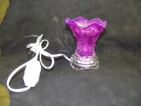Luxury Fragrance Glass Lamp Purple Shade